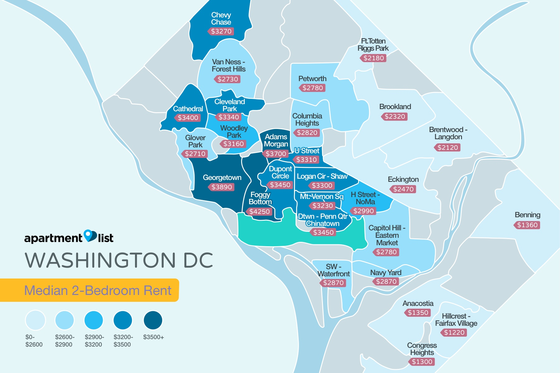 Bedroom Apartments For Rent In Washington Dc