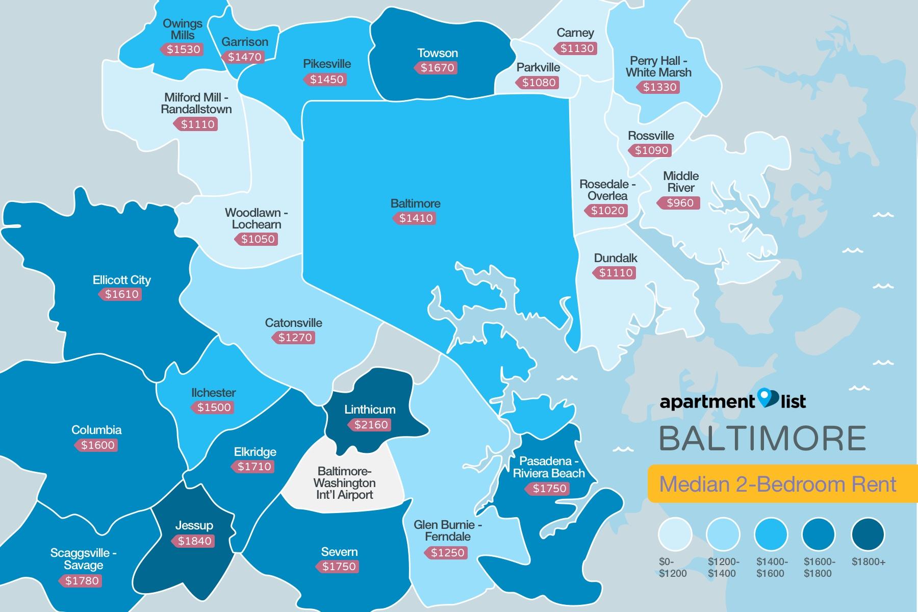 Baltmore Price Map
