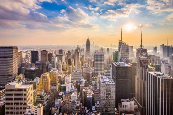 New York, NY Skyline