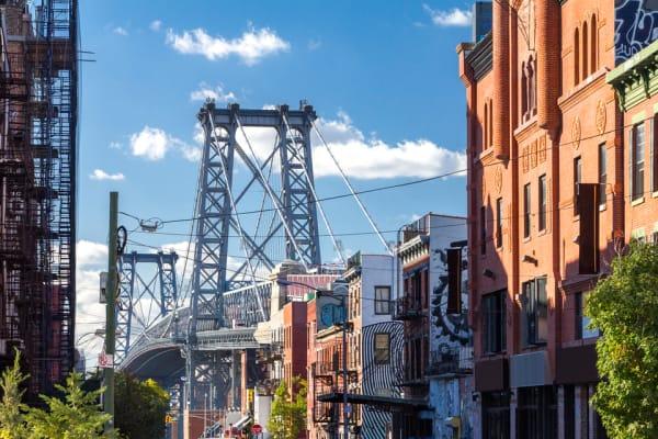 Williamsburg Bridge in Brooklyn, NY