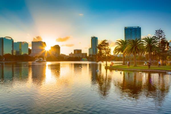 Sunset at Orlando