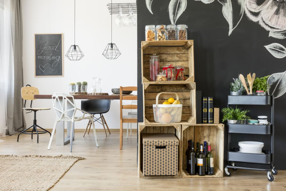 decorative storage baskets
