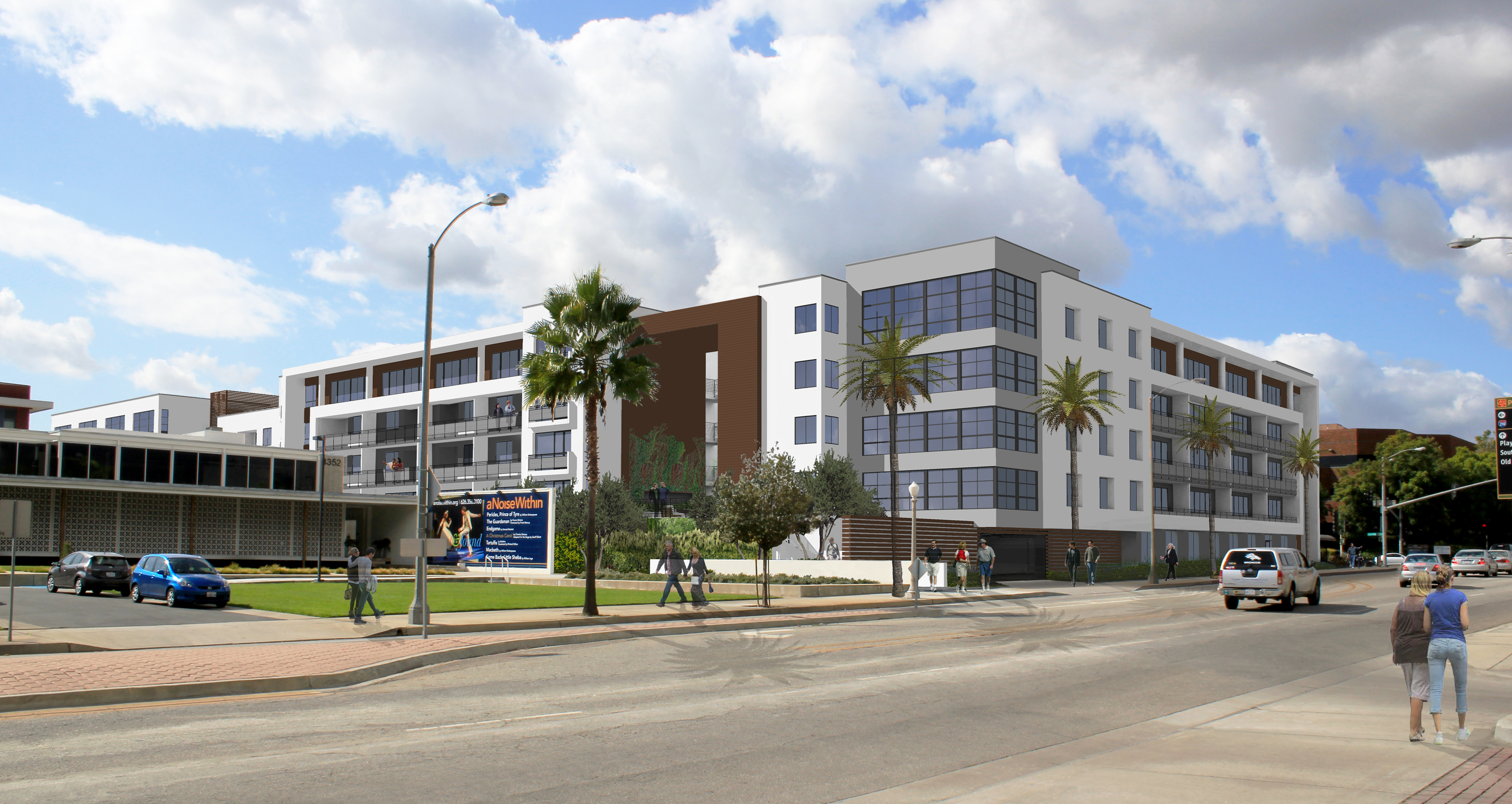 Ellington - The Ellington will offer residents a choice of studio, 1-bedroom, 1-bedroom loft and 2-bedroom floor plans
