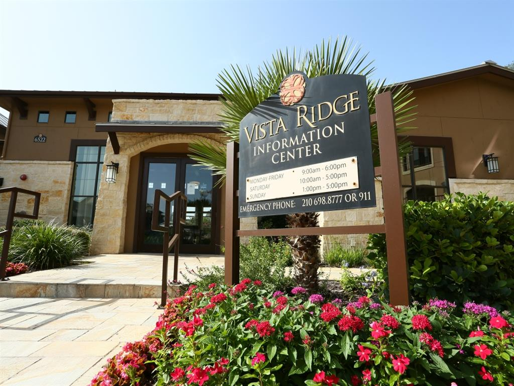 Vista Ridge - Please Note: Listed rates are averages