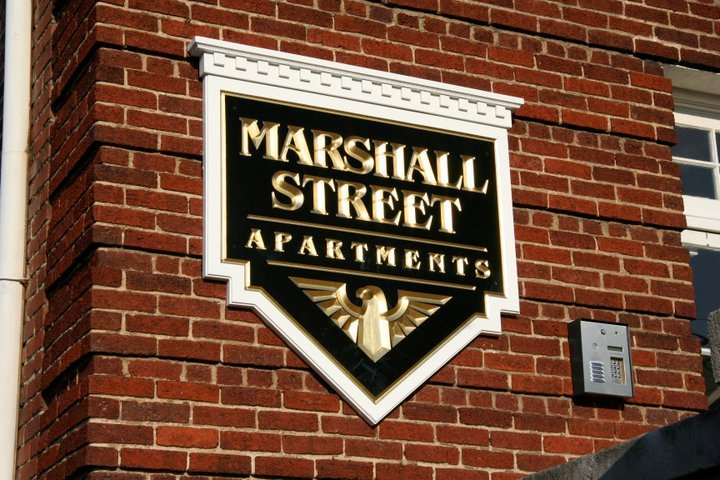 Marshall Street Apartments - Marshall Street Apartments is an exquisite colonial-style building located in the heart of Richmonds downtown business district