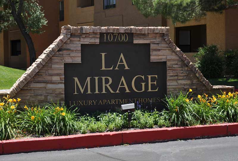 La Mirage - La Mirage Apartment Homes offer the best of Southwestern comfort in northeast Albuquerque
