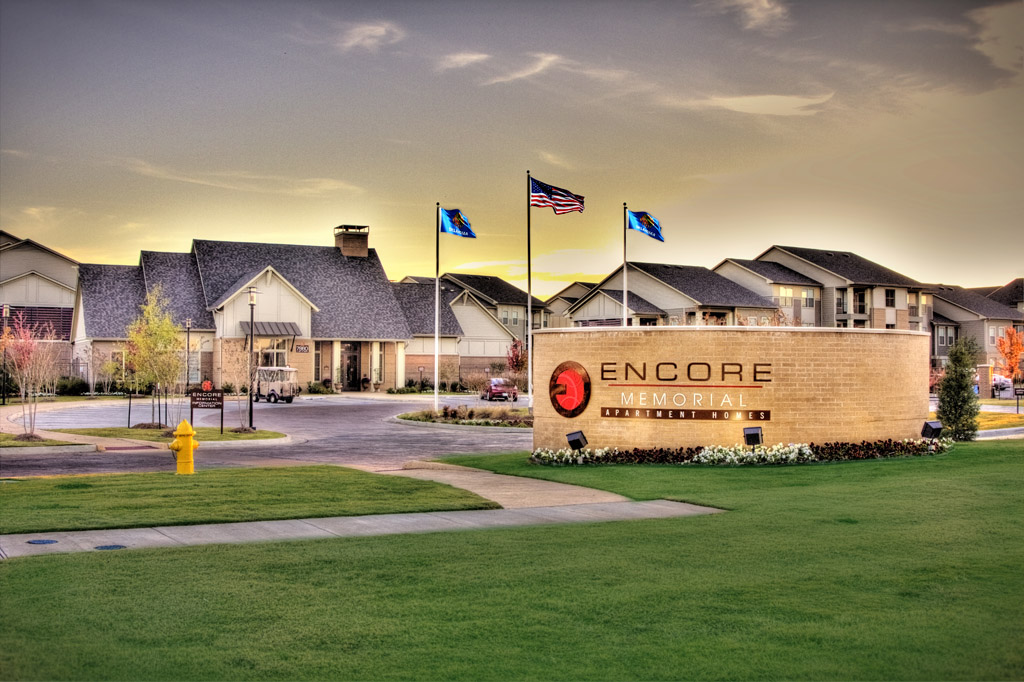 Encore Memorial - Encore Memorial is located in the growing community of Bixby, Oklahoma and offers a collection of uniquely designed one-, two-, and three-bedroom apartment homes
