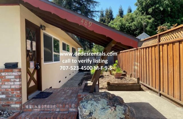 489 Talbot Avenue - 489 Talbot Avenue, Santa Rosa, CA 95405