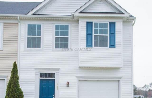 230 GARRISON WAY - 230 Garrison Way, Fruitland, MD 21826