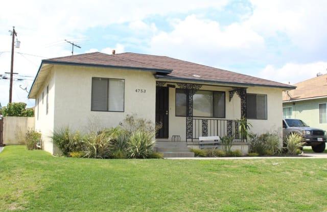 4753 Snowden Avenue - 4753 Snowden Avenue, Lakewood, CA 90713