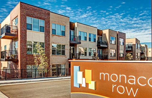 Monaco Row Denver Co Apartments For Rent