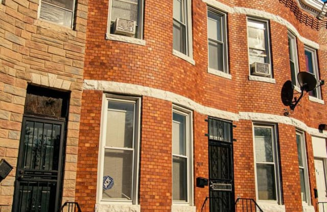 309 N PAYSON ST - 309 North Payson Street, Baltimore, MD 21223