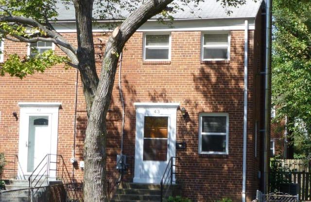 43 GORDON STREET - 43 South Gordon Street, Alexandria, VA 22304