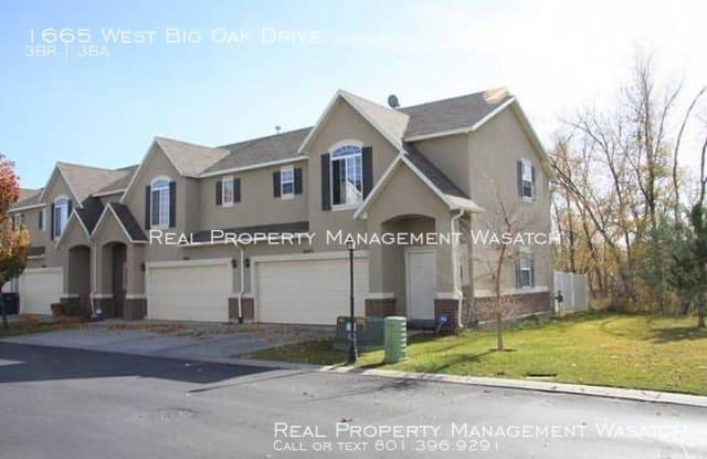 1665 West Big Oak Drive - 1665 W Big Oak Dr, West Valley City, UT 84119
