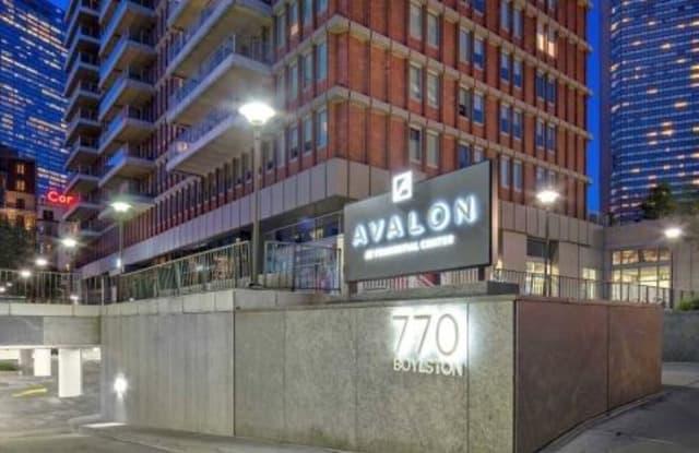 772 Bolyston - 772 Boylston Street, Boston, MA 02199