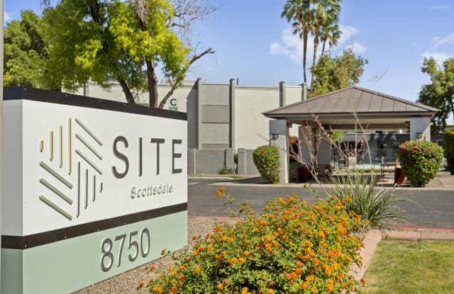 SITE Scottsdale - 8750 E McDowell Rd, Scottsdale, AZ 85257