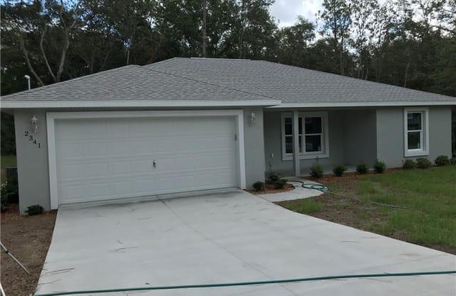 8200 N Pickinz Way - 8200 N Pickinz Way, Citrus Springs, FL 34433