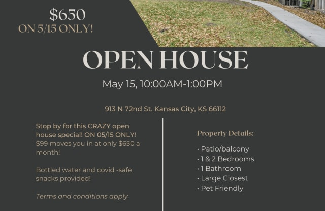 The Seven Two Apartments - 913 N 72nd St, Kansas City, KS 66112