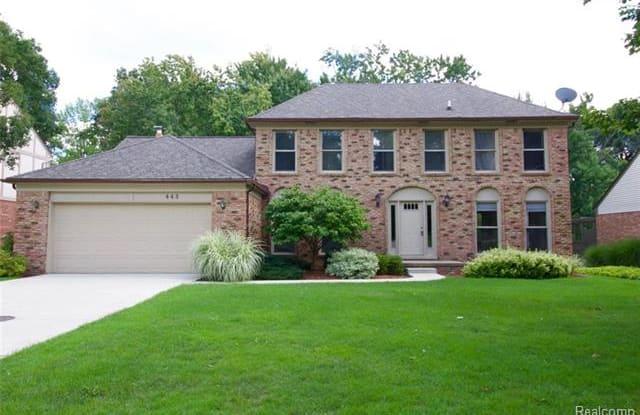 443 TANGLEWOOD Drive - 443 Tanglewood Drive, Rochester Hills, MI 48309
