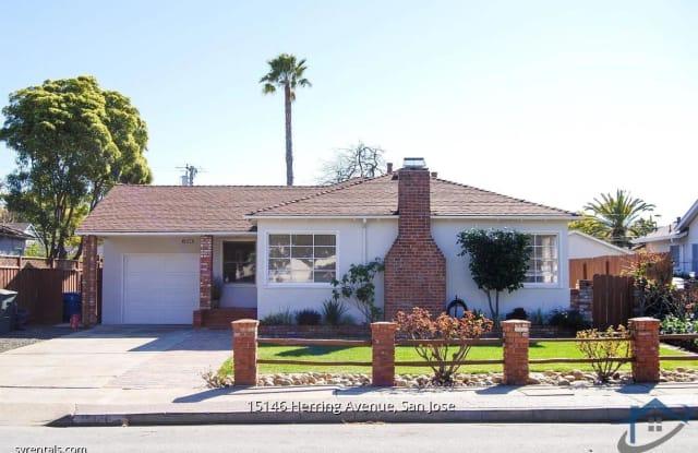 15146 Herring AVE - 15146 Herring Avenue, Cambrian Park, CA 95124