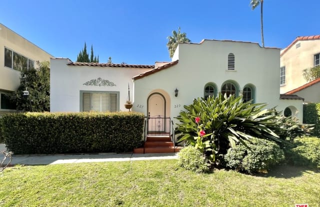 229 N Swall DR - 229 North Swall Drive, Beverly Hills, CA 90211