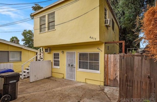 4415 Van Dyke Ave - 4415 Van Dyke Avenue, San Diego, CA 92116