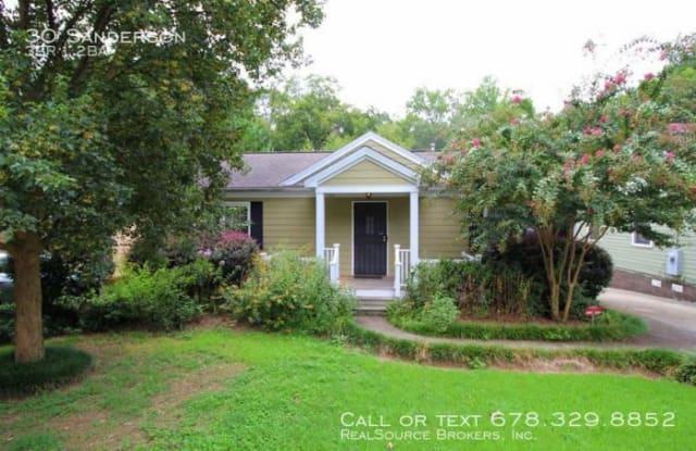30 Sanderson - 30 Sanderson St NE, Atlanta, GA 30307