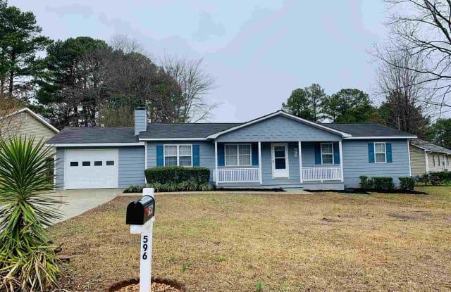 596 Lakeridge Cir - 596 Lakeridge Circle Southeast, Rockdale County, GA 30094