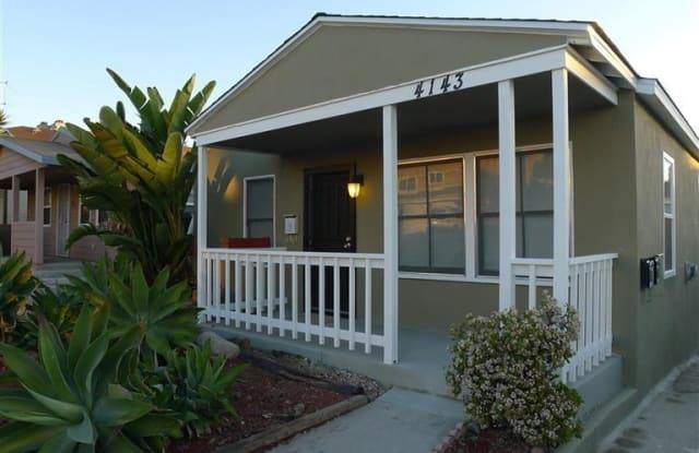 4143 Louisiana STREET - 4143 Louisiana Street, San Diego, CA 92104