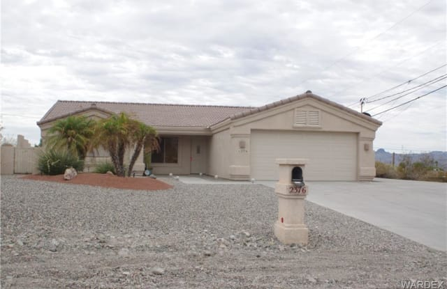 2376 HUNTINGTON Drive - 2376 Huntington Drive, Lake Havasu City, AZ 86403