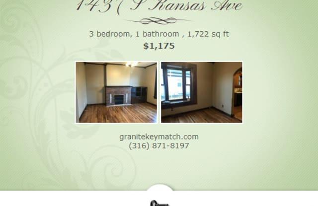 1437 S Kansas Ave - 1437 South Kansas Avenue, Wichita, KS 67211