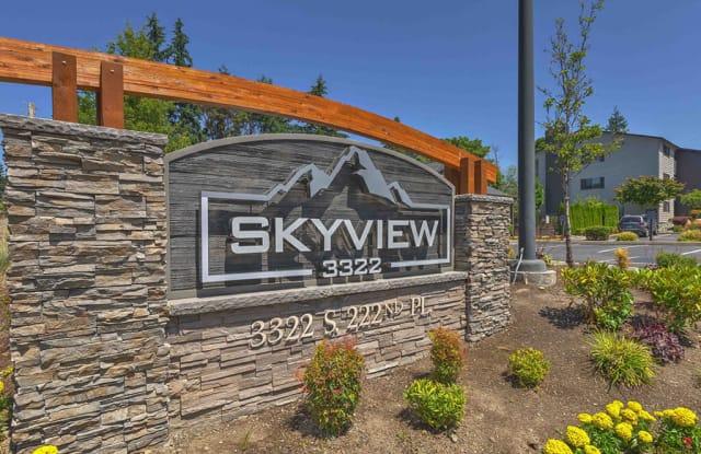Skyview 3322 - 3322 S 222nd Pl, Kent, WA 98032