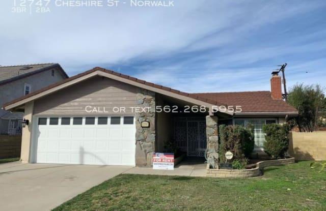 12747 Cheshire St - 12747 Cheshire Street, Norwalk, CA 90650