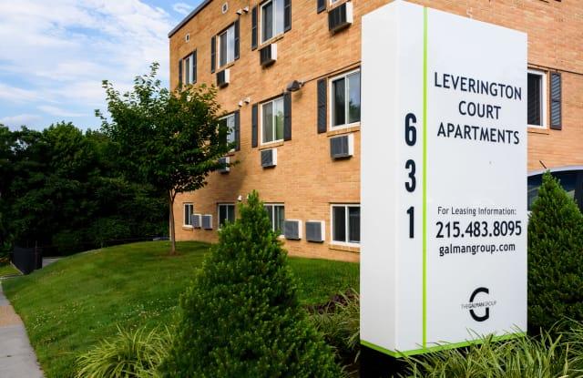 Leverington Court Apartments - 631 Leverington Ave, Philadelphia, PA 19128