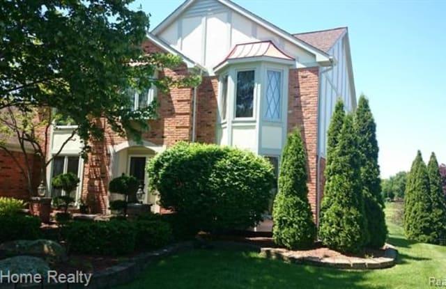 3081 BURLINGTON Court - 3081 Burlington Court, Rochester Hills, MI 48306