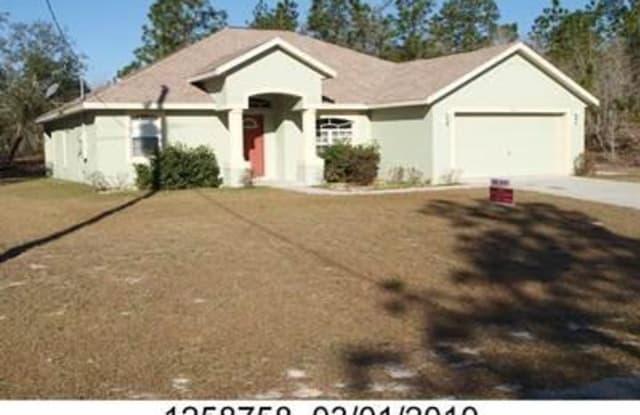 9810 N LATHYRUS Terrace - 9810 North Lathyrus Terrace, Citrus Springs, FL 34433