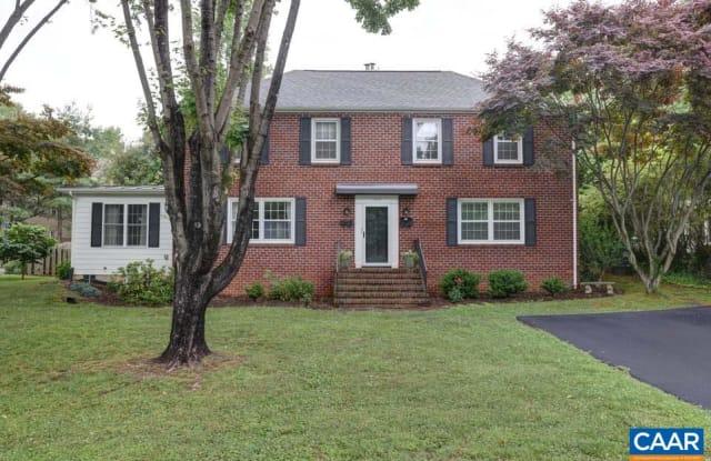 1953 THOMSON RD - 1953 Thomson Road, Charlottesville, VA 22903