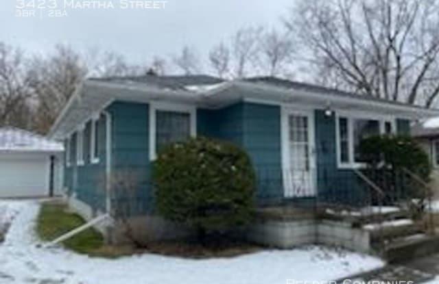 3423 Martha Street - 3423 West Martha Street, Highland, IN 46322