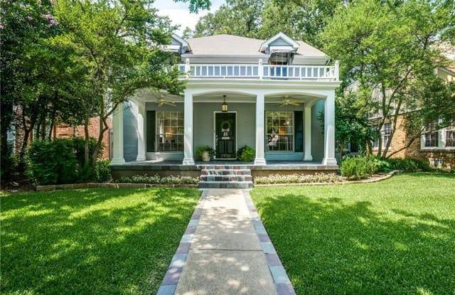 2936 Dyer Street - 2936 Dyer Street, University Park, TX 75205