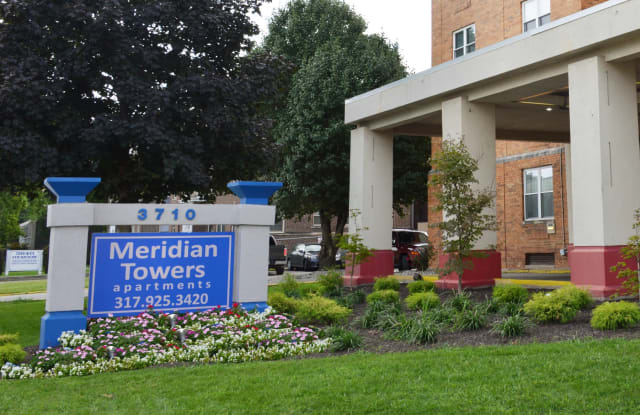 Meridian Towers - 3710 N Meridian St, Indianapolis, IN 46208
