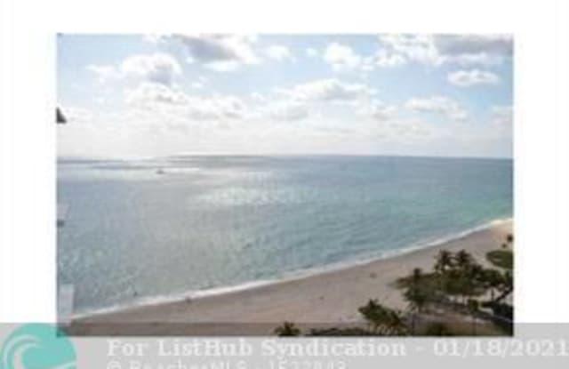 1370 S Ocean Blvd - 1370 South Ocean Boulevard, Pompano Beach, FL 33062