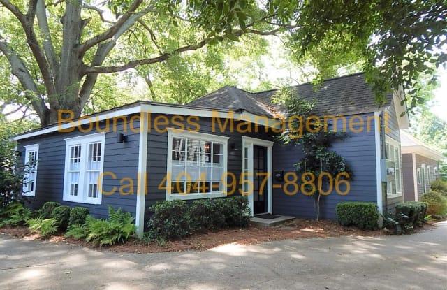 706 Highland Ave NE Rear APT - 706 Highland Avenue Northeast, Atlanta, GA 30312