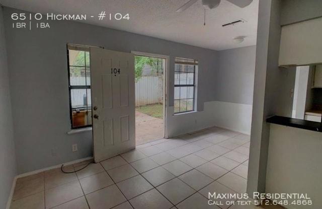 6510 Hickman - 6510 Hickman Ave, Austin, TX 78723