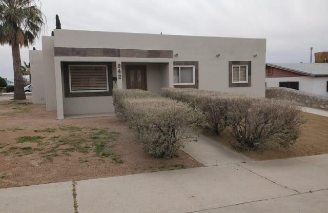942 Clark Dr. - 942 N Clark Dr, El Paso, TX 79905