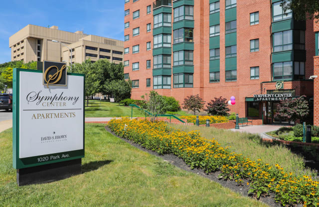 Symphony Center - 1020 Park Ave, Baltimore, MD 21201