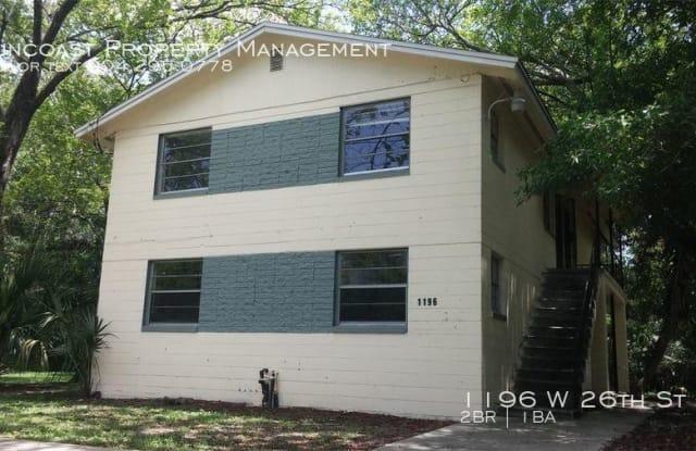 1196 W 26th St - 1196 26th St W, Jacksonville, FL 32209