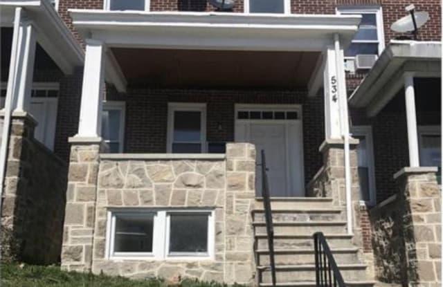 534 Winston Ave - 534 Winston Avenue, Baltimore, MD 21212