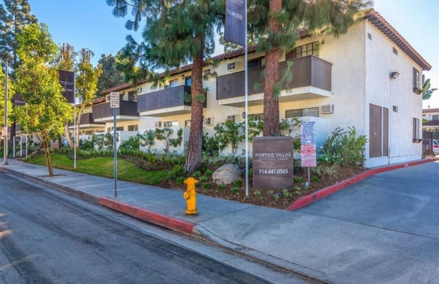 Portico Villas Apartments Homes - 140 W Hill Ave, Fullerton, CA 92832