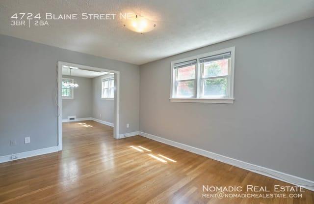 4724 Blaine St NE - 4724 Blaine Street Northeast, Washington, DC 20019