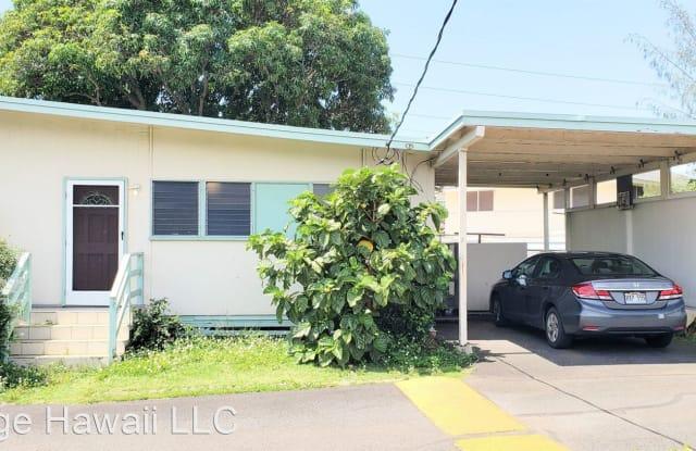 1629 Kino Street, Unit M - 1629 Kino Street, Honolulu, HI 96819